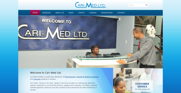Chrysalis Communications Launches Cari-Med's Website